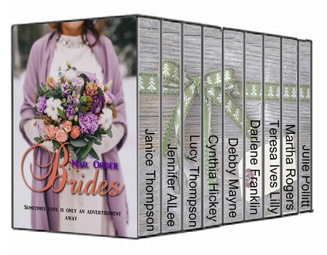 Mail Order Brides box set. Available on Amazon